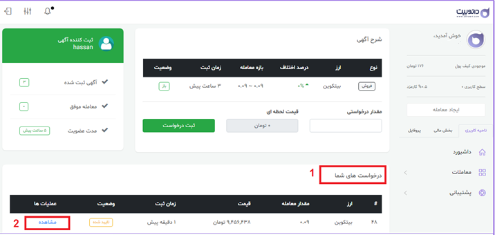 راهنمای خرید و فروش ارز های دیجیتال در سایت داتوبیت